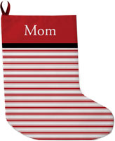 Lavender Belle Stocking (Merry And Bright Red)