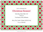 Boatman Geller Holiday Invitations - Kate Kelly & Red