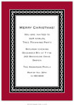 Boatman Geller Holiday Invitations - Alex Cranberry