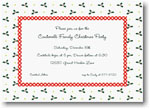 Boatman Geller Holiday Invitations - Holly