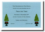 Boatman Geller Holiday Invitations - Topiary Evergreen