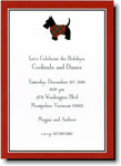 Boatman Geller Holiday Invitations - Scottie
