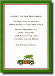 Boatman Geller Holiday Invitations - Woody