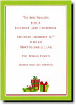 Boatman Geller Holiday Invitations - Presents