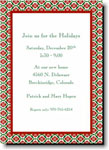 Boatman Geller Holiday Invitations - Ornamental Red
