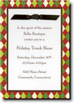 Boatman Geller Holiday Invitations - Harlequin Red