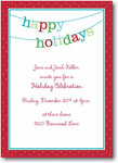 Boatman Geller Holiday Invitations - Banner Happy Holidays