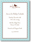 Boatman Geller Holiday Invitations - Bird on Branch Holiday