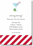 Boatman Geller Holiday Invitations - Candy Cane