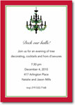 Boatman Geller Holiday Invitations - Holiday Chandelier