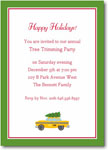 Boatman Geller Holiday Invitations - Christmas Taxi
