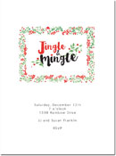 Chatsworth Holiday Invitations - Jingle Invite