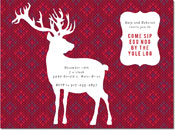 Chatsworth Holiday Invitations - Deer Sweater Invite