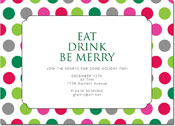 Chatsworth Holiday Invitations - Light Brite Invite