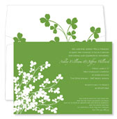 Noteworthy Collections - Holiday Invitations (Clover)