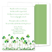 Noteworthy Collections - Holiday Invitations (Clover Patch)