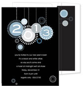 Noteworthy Collections - Holiday Invitations (Happy New Year)
