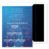 Noteworthy Collections - Holiday Invitations (Champagne Soiree)