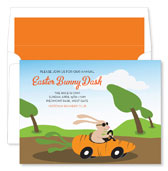 Noteworthy Collections - Holiday Invitations (Bunny Dash)