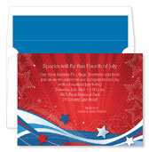 Noteworthy Collections - Holiday Invitations (Patriotic Flurries)