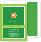 Noteworthy Collections - St. Patrick's Day Party Invitations (Erin Go Bragh)