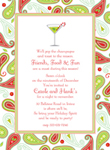 Noteworthy Collections - Holiday Invitations (Holiday Paisley)