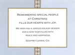 Noteworthy Collections - Holiday Invitations (Silver on Gold Medallions Invite)