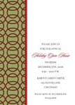 Noteworthy Collections - Holiday Invitations (Red Fretwork Invite)
