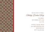 Noteworthy Collections - Holiday Invitations (Rounded Squares on Brown)