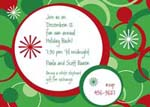 Noteworthy Collections - Holiday Invitations (Holiday Loops Invite)
