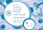Noteworthy Collections - Holiday Invitations (Wintery Loops Invite)
