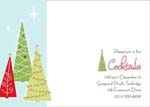 Noteworthy Collections - Holiday Invitations (Retro Trees Invite)