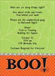 Noteworthy Collections - Halloween Invitations (BOO!)