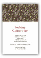 Stacy Claire Boyd - Holiday Invitations (Peppermint Swirls)