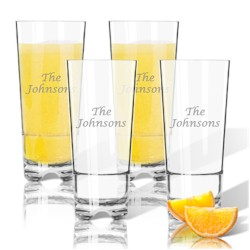 Personalized Tritan Highball: Set Of 4