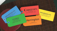 Rytex - Large Paper Name Tags