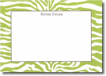 Boatman Geller - Green Zebra Invitations