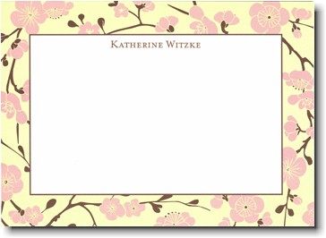 Boatman Geller - Pink Blossom Invitations
