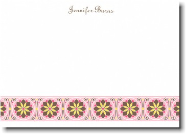 Boatman Geller - Pale Pink Floral Band Invitations
