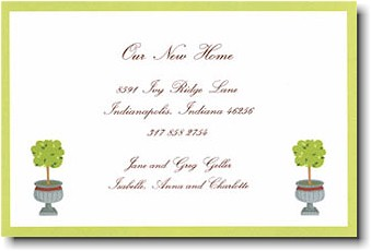 Boatman Geller - Topiary Invitations
