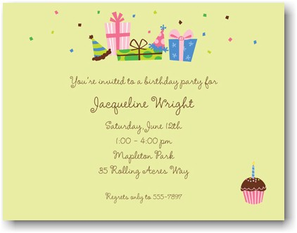 Boatman Geller - Birthday Lime Invitations