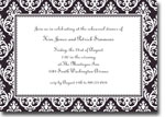 Boatman Geller Invitations - Madison Black