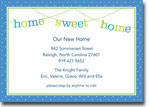 Boatman Geller Invitations - Banner Home Sweet Home (H)