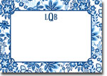 Boatman Geller Invitations - Willow Floral Blue
