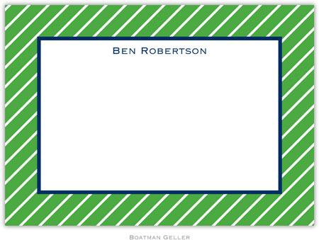 Boatman Geller - Create-Your-Own Birth Announcements/Invitations (Kent Stripe)