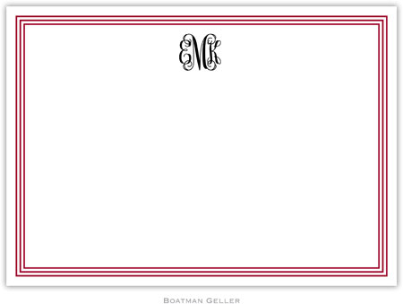 Boatman Geller - Create-Your-Own Birth Announcements/Invitations (Grand Border)