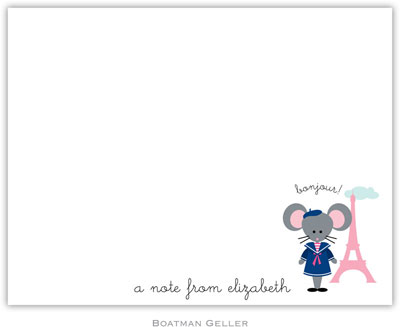 Boatman Geller - Mimi in Paris Birth Announcements/Invitations