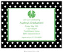 Boatman Geller - Create-Your-Own Birth Announcements/Invitations (Polka Dot)
