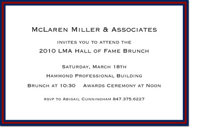 Boatman Geller - McLaren Sport Birth Announcements/Invitations
