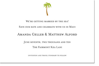 Boatman Geller - Palm Birth Announcements/Invitations